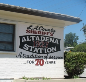 Altadena 1927 Station A tradition of service for 70 years